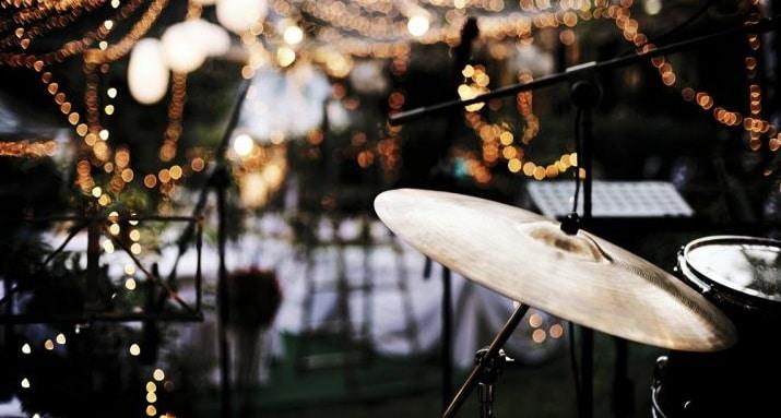Musique batterie à un mariage